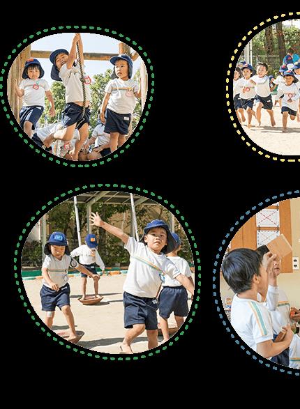 大原幼稚園児の笑顔1