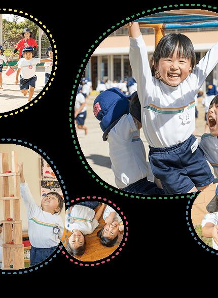 大原幼稚園児の笑顔2