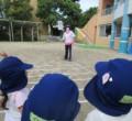 【どんぐり】交通安全教室とお散歩