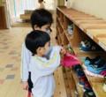 【年長・年中】当番掃除の引き継ぎ式